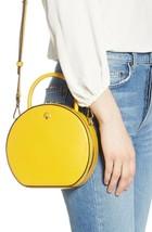 Kate Spade Andi Canteen Leather Crossbody Bag Yellow Handbag Purse PXRUA... - $282.15 CAD