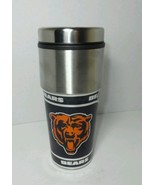 AUTHENTIC CHICAGO BEARS COLLECTIBLE NFL DOUBLE INSULATED SPORTS TRAVEL T... - $12.73