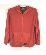 Harley Davidson Womens Jacket Size Small S Orange Long Sleeve Zip Up  - $27.12