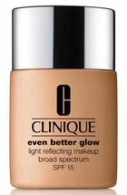 Clinique Even Better Glow Light Reflecting Makeup Foundation WN92 Toaste... - $32.68