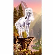 30x56CM DIY Unicorn 5D Diamond Painting Embroidery Home Decor - $11.99
