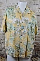 Joe Marlin Hawaiian Button Short Sleeve Shirt Size L - $10.88