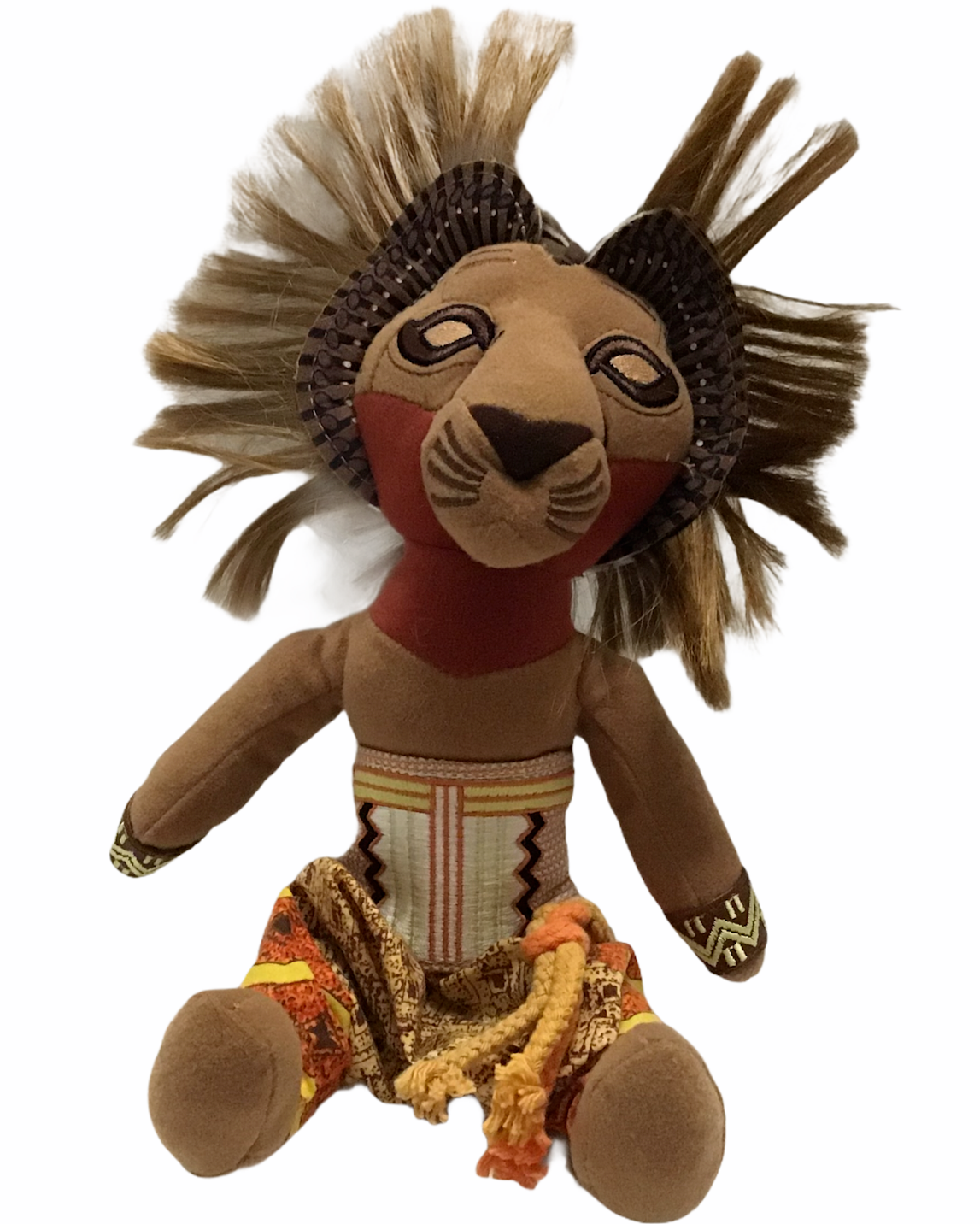 Primary image for Disney The Lion King Simba Original Broadway Musical Limited Edition Plush 12""