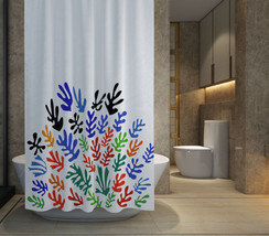 """HOT SALE Matisse Floral Pattern Shower Curtain Size 60"""" x 72"""" Free Shipping - $48.10"""