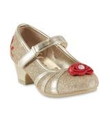 Disney Belle Dress Shoes Size 6 7 8 9 10 11 Toddler Child Beauty Rose - $22.99