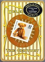 USPS Celebate the Century 1902 Teddy Bear in a Stamp Collector's Tin Box - $20.75