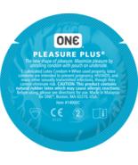 ONE Pleasure Plus Bulk Condoms - Choose Quantity - $7.43+