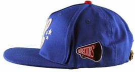 Cousins SportsWear Men's Hollywood Directors Leather Strapback Baseball Hat NWT image 10
