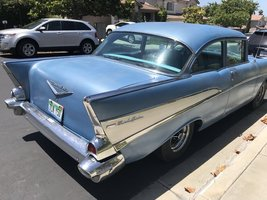 1957 Chevrolet Bel Air For Sale in Oceanside, Pennsylvania 92057 image 2