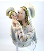 Lefton China Madonna and Child Jesus KW6418 wal... - $25.00