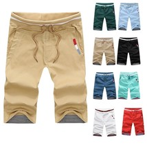 Good Quality Summer Hot Sale Two Buckle Pocket Fashion Slim Men's Causual Shorts - $28.56
