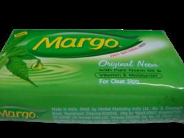 4 Bars Margo 100grams Original Neem Oil Soap Bars Acne Pimples Dandruf - $13.00