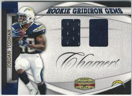2011 Panini Gridiron Gear Gems #18 Jordan Todman #/25 Rookie RC Chargers - $0.99
