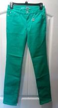 CELEBRITY PINK  NWT Stretch Brigth Green  5 Pockets JEANS PANTS sz 14 Girls - $17.75