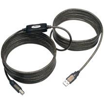 Tripp Lite U042-025 USB 2.0 Hi-Speed A/B Active Repeater Cable, 25ft - $37.50
