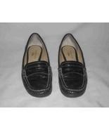 Women's Size 8 Black ANNE KLEIN Iflex Loafer Shoes - $43.35