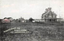 Winnipeaukee Inn Annex Lodge Lake New Hampshire 1910c postcard - $6.93