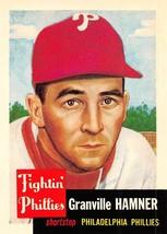 1991 Topps Archives #146 Granville Hamner > 1953 > Philadelphia Phillies - $0.99