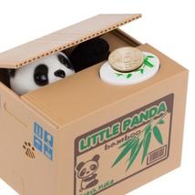Piggy Bank Panda Automatic Stole Coin Saving Moneybox Kids Children Gift... - $14.95