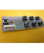 """Element 55"""" ELEFW5517 Keypad Controller Board KK 21006183 V1.0 Samway - $14.95"""