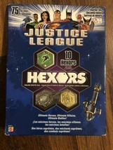 JUSTICE LEAGUE HEXORS BATTLE TILE GAME STARTER SET  - $14.85