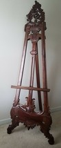 Antique Display Easel early 1900s beautifully detailed. - $594.00
