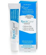 RectiCare Anorectal Lidocaine 5% Cream, 15g - Hemorrhoids Anorectal diso... - $29.99