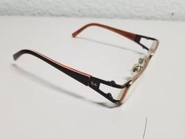 Ray Ban RB 1021T 3040 47 15 125 Orange Women's Titanium Eyeglass Frames Small - $39.59