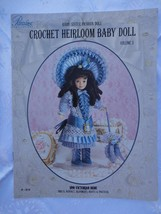 "1890 VICTORIAN BEBE Paradise Crochet 7.5"" BABY SISTER Doll Costume Pattern - $9.85"