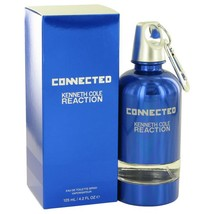 Kenneth Cole Reaction Connected by Kenneth Cole Eau De Toilette Spray 4.2 oz for - $46.89