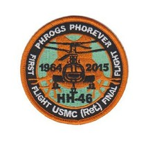 United States Marine Corp HH-46 Phrogs Phorever Patch @ NEW!!!@ - $11.87