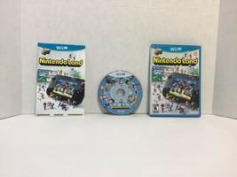 Nintendo Land (Nintendo Wii U, 2012) Complete w/ Manual- Free Shipping! - $11.88