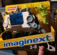 Imaginext Space moon hauler with rover vehicle! BIG ASTRONAUT PACK!  - $59.99