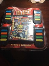 BUZZ Hollywood Quiz FOR PLAYSTATION 2 w/ 4 Buzzers NEW FACTORY SEALED - $27.71