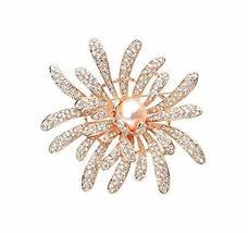 Women Gifts Fashion Noble Rhinestone Brooch Pin Designer Jewelry