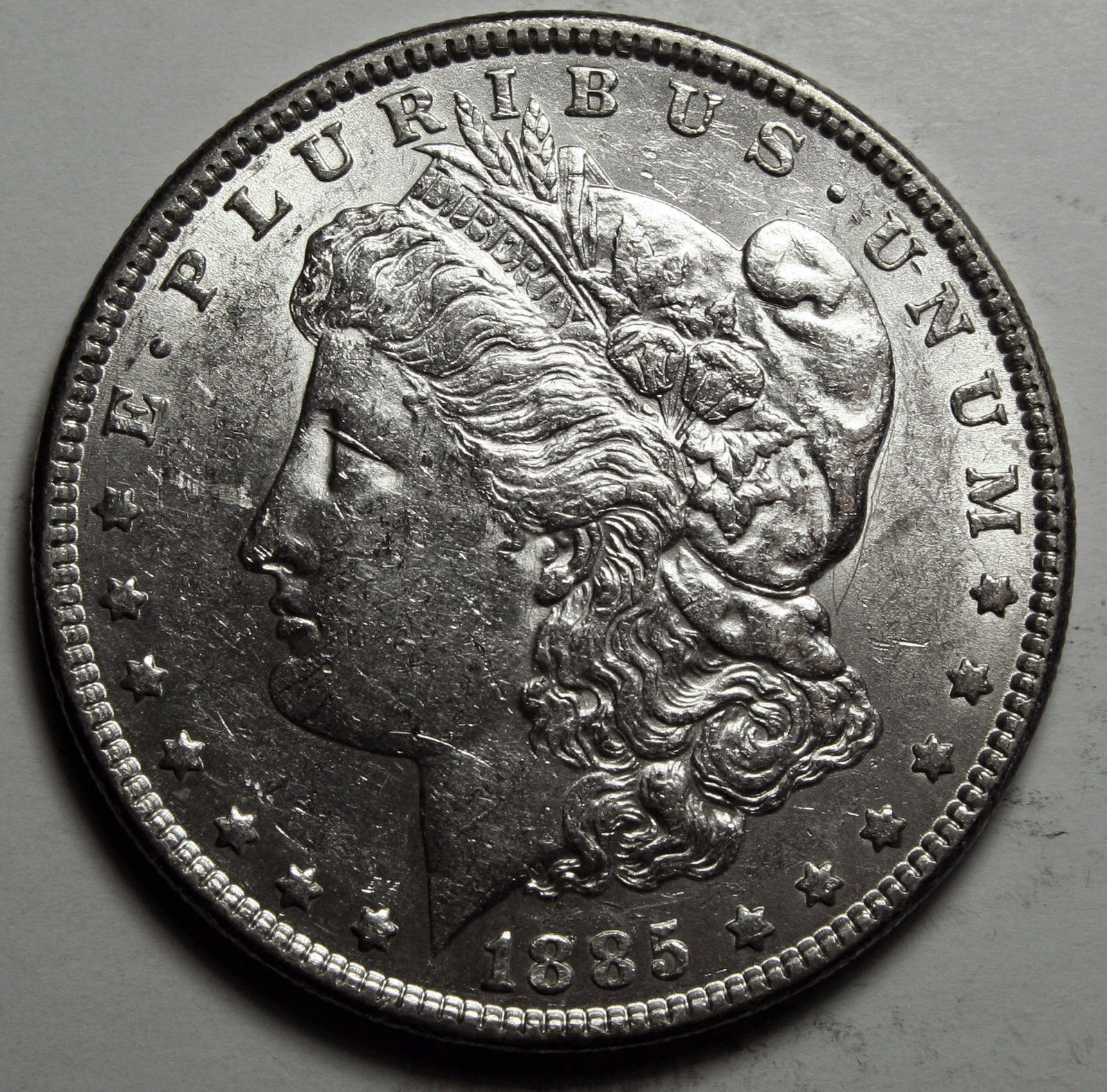 1885 MORGAN SILVER DOLLAR COIN Lot# D 29