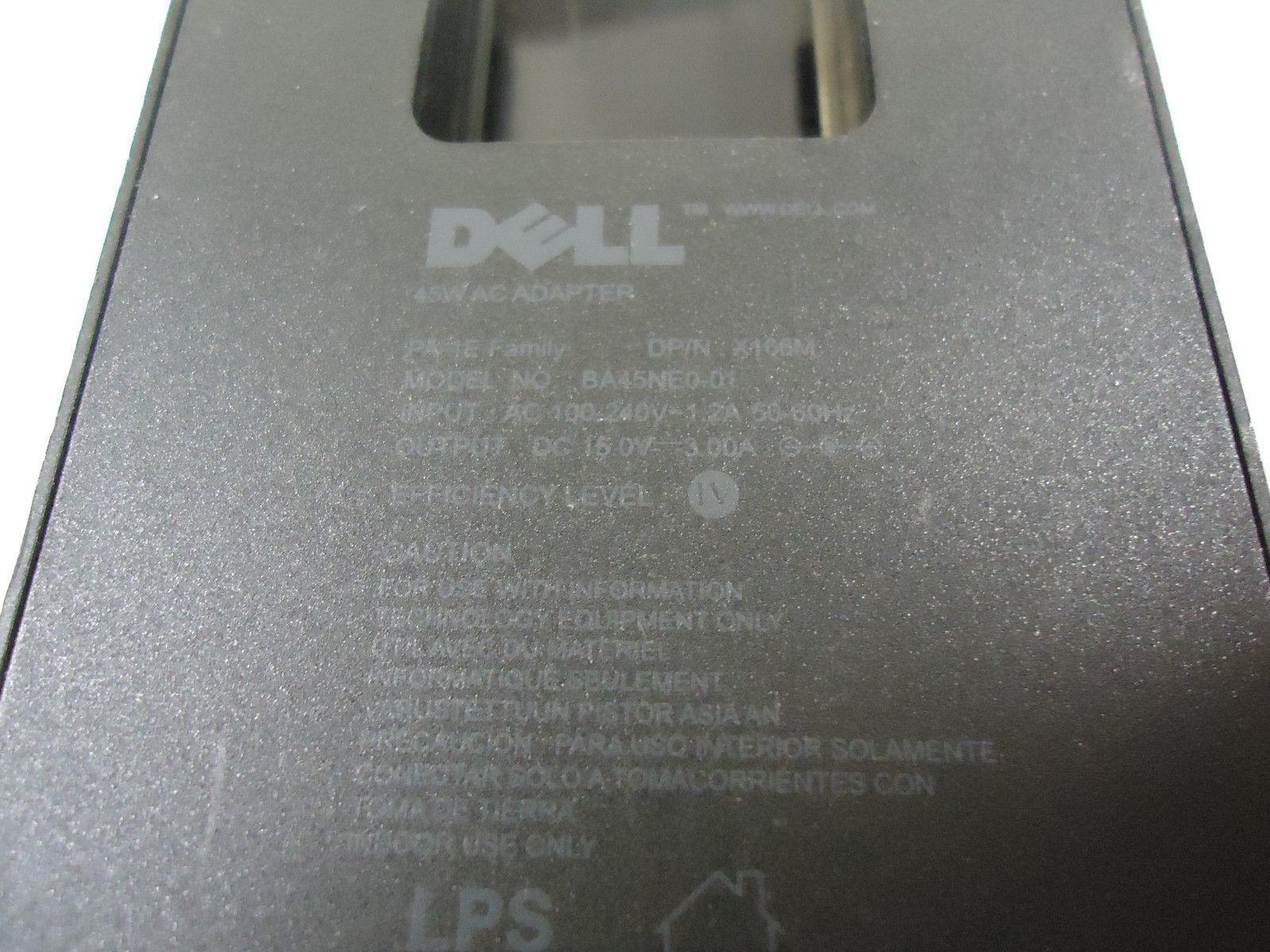 Dell Adamo 13 PA-1E 45W Power Supply Adapter X166M BA45NE0-01 with Power Cord