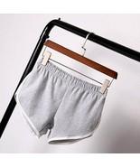 New Summer Shorts Women Casual Shorts Workout Waistband Skinny Short - $6.92+