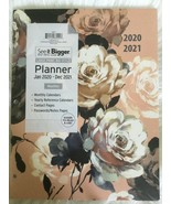 Peony PlanAhead 2020-2021 See It Bigger Monthly Agenda Large Planner11 x... - $15.74