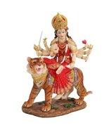 8.5 Inch Durga Mythological Indian Hindu Goddess Statue Figurine - $47.51