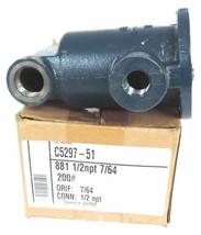 "ARMSTRONG C5297-51 INVERTER BUCKET STEAM TRAP 881 1/2"" NPT 7/64"" ORIF C529751"