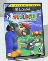 Mario Golf Toadstool Tour Nintendo Gamecube Complete CIB - $24.18