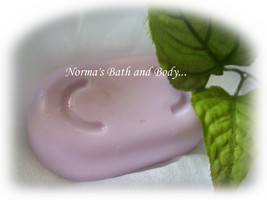 blackberry and sage goats milk soap - $5.00