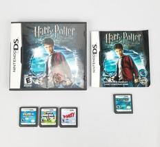 (Lot Of 4) Games Nintendo DS Super Mario Bros Harry Potter XG Blast Club... - $29.25