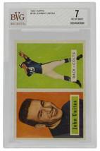Johnny Unitas 1957 Topps #138 Baltimore Colts Football Card BGS NM 7 - $8,909.01