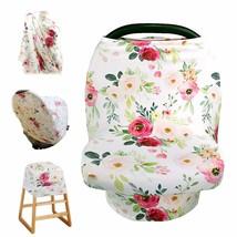 Breastfeeding Baby Nursing Cover Infant Stroller Car Seat Scarf Canopy Bl - $23.00