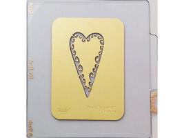 Sizzix Metal Embossing Plate, Primitive Heart #2 #38-9641