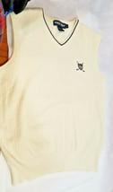 Polo Ralph Lauren Pima Cotton Sweater Vest the Charlton Size L Large 80+... - $34.64