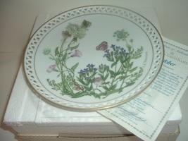 Bing & Grondahl Country Garden October Plate by Linda Thompson w Box COA - $22.99