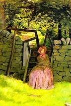 Waiting by John Everett Millais - Art Print - $19.99+